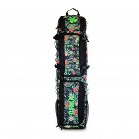 Schlägertaschen - Hockey Taschen -  kopen - Osaka SP LARGE Schlägertasche – Blau Blumen / GRÜN