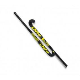 Hockeyschläger - Dita -  kopen - Dita FiberTec C45 Low Bow Gelb