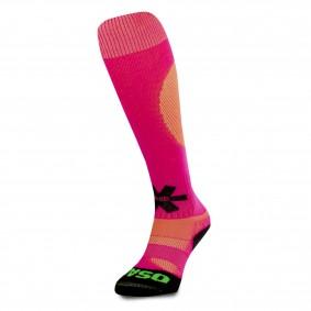 Hockeysocken - Osaka Hockeykleidung - Hockey Kleidung -  kopen - Osaka Sox Pink / Gelb Melange   Hockeysocken