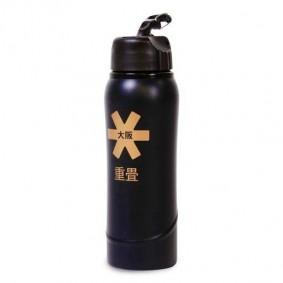 Geschenke und Gadgets -  kopen - Osaka METAL Wasserflasche – Schwarz / Gold
