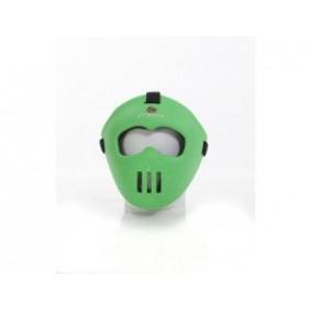 Gesichtsschutz - Schutz -  kopen - Brabo Gesichtsmaske Junior limeDunkelgrün