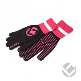 Winterhandschuhe - Hockey Zubehör -  kopen - Brabo Winterhandschuh Extra Griff Schwarz Pink