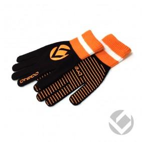 Winterhandschuhe - Hockey Zubehör -  kopen - Brabo Winterhandschuh Extra Griff Schwarz Orange