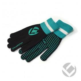 Hockey Zubehör - Winterhandschuhe - kopen - Brabo Winterhandschuh Extra Griff Black/Azur