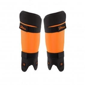 Schutz - Schienbeinschoner -  kopen - Dita Schienbeinschutz Ortho Junior Orange/Schwarz