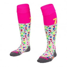 Hockeysocken - Hockey Kleidung -  kopen - Reece Numbaa Special Socken Weiß/Pink