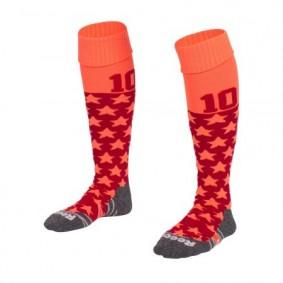 Hockeysocken - Hockey Kleidung -  kopen - Reece Numbaa Special Socken Coral/Rot