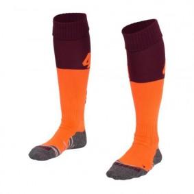 Hockeysocken - Hockey Kleidung -  kopen - Reece Numbaa Special Socken Burgundy/Orange