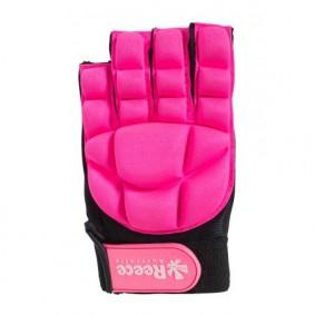 Schutz - Hockeyhandschuhe -  kopen - Reece Komfort halb Finger – Pink