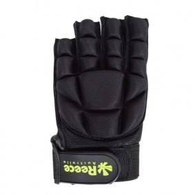 Schutz - Hockeyhandschuhe -  kopen - Reece Komfort halb Finger – Schwarz