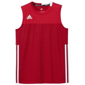 Hockey T-Shirts - Hockey Kleidung -  kopen - Adidas T16 Climacool ärmellos Tee Jugend Jungen Rot