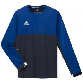 Hockey T-Shirts - Hockey Kleidung -  kopen - Adidas T16 Climacool lang Ärmel Tee Jugend Jungen Navy