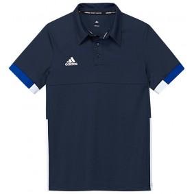 Hockey T-Shirts - Hockey Kleidung -  kopen - Adidas T16 Team Poloshirt Jugend Jungen Navy