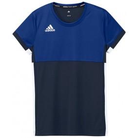 Hockey T-Shirts - Hockey Kleidung -  kopen - Adidas T16 Climacool kurze Ärmel Tee Jugend Mädchen Navy