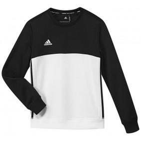 Hockey Pullover - T16 Hockeykleidung - Hockey Kleidung -  kopen - Adidas T16 Crew Sweat Jugend Schwarz