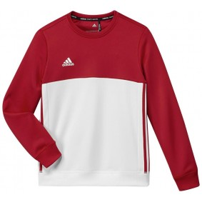 Hockey Pullover - Hockey Kleidung -  kopen - Adidas T16 Crew Sweat Jugend Rot