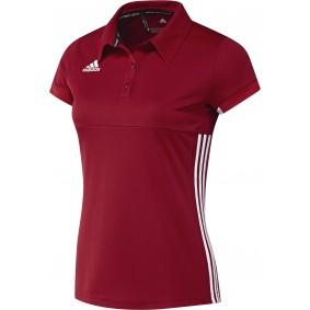Hockey T-Shirts - Hockey Kleidung -  kopen - Adidas T16 Team Poloshirt Frauen Rot