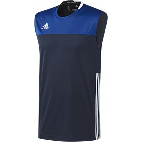 Hockey T-Shirts - Hockey Kleidung -  kopen - Adidas T16 Climacool ärmellos Tee Männer Navy