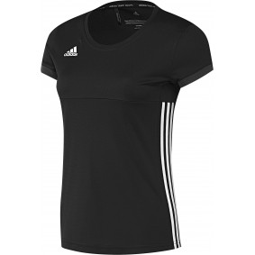 Hockey T-Shirts - Hockey Kleidung -  kopen - Adidas T16 Team kurze Ärmel Tee Frauen Schwarz