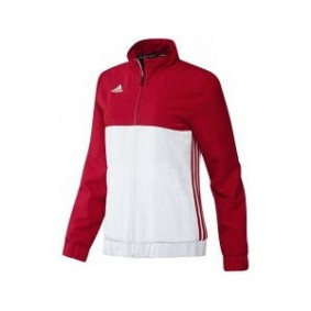Hockey Trainingsjacken - Hockey Kleidung -  kopen - Adidas T16 Team Jacke Frauen Rot