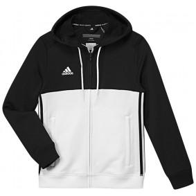 Hockey Pullover - T16 Hockeykleidung - Hockey Kleidung -  kopen - Adidas T16 Hoody Jugend Schwarz