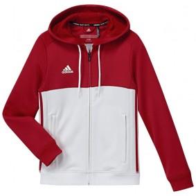 Hockey Pullover - T16 Hockeykleidung - Hockey Kleidung -  kopen - Adidas T16 Hoody Jugend Rot