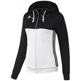 Hockey Pullover - T16 Hockeykleidung - Hockey Kleidung -  kopen - Adidas T16 Hoody Frauen Schwarz