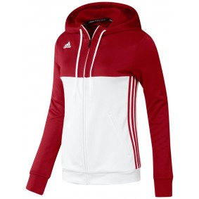 Hockey Pullover - T16 Hockeykleidung - Hockey Kleidung -  kopen - Adidas T16 Hoody Frauen Rot