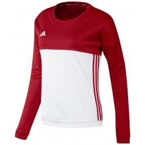 Hockey Pullover - T16 Hockeykleidung - Hockey Kleidung -  kopen - Adidas T16 Crew Sweat Frauen Rot