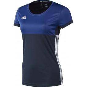 Hockey T-Shirts - Hockey Kleidung -  kopen - Adidas T16 Climacool kurze Ärmel Tee Frauen Navy