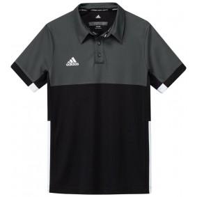 Hockey T-Shirts - Hockey Kleidung -  kopen - Adidas T16 Climacool Poloshirt Jugend Jungen Schwarz