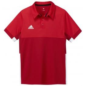 Hockey T-Shirts - Hockey Kleidung -  kopen - Adidas T16 Climacool Poloshirt Jugend Jungen Rot