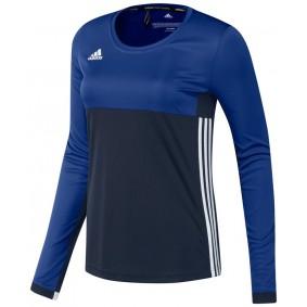Hockey T-Shirts - Hockey Kleidung -  kopen - Adidas T16 Climacool lang Ärmel Tee Frauen Navy