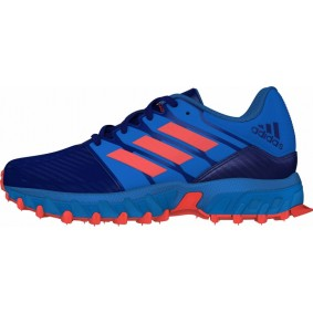 Junior Hockeyschuhe - Kunstrasenschuhe - Hockeyschuhe - Adidas Hockeyschuhe - Hockeyschläger Outlet -  kopen - Adidas Hockey Lux Junior Blau-Orange | RABATTDEALS