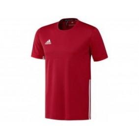 Hockey T-Shirts - Hockey Kleidung -  kopen - Adidas T16 Team kurze Ärmel Team Tee Jugend Jungen Rot