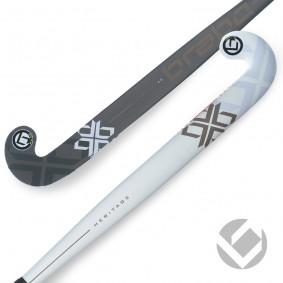 Hockeyschläger - Brabo -  kopen - Brabo Heritage 40 Weiß / Schwarz