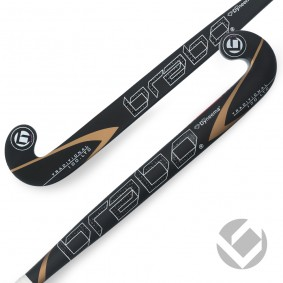 Brabo - Hockeyschläger - kopen - Brabo traditionell Carbon 100 LTD Dyneema Low Bow