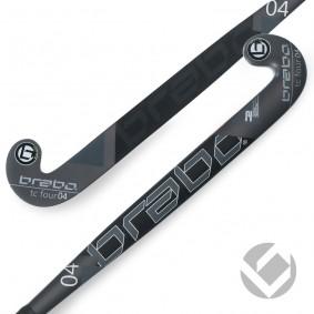 Hockeyschläger - Brabo -  kopen - Brabo Tribute TC-4.24 Schwarz / Weiß