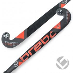Hockeyschläger - Brabo -  kopen - Brabo Tribute TC-3.24 Schwarz / Orange