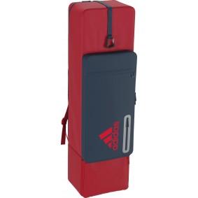 Schlägertaschen - Hockey Taschen -  kopen - Adidas HY Kit Bag Rot/Blau | Ab sofort verfügbar