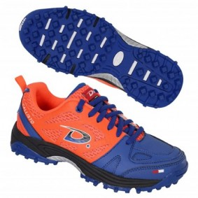 Junior Hockeyschuhe - Kunstrasenschuhe - Hockeyschuhe - Dita Hockeyschuhe - Hockeyschläger Outlet -  kopen - Dita Callisto Orange/Blau (AKTION)