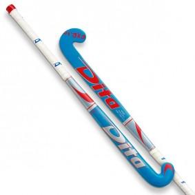 Junior Hockeyschläger - Hockeyschläger - Dita -  kopen - Dita FX R10 Junior BlauSilber Rot