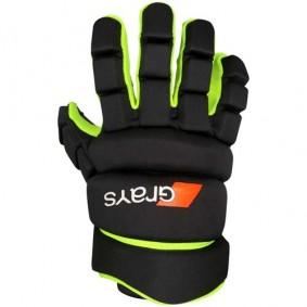 Hockeyhandschuhe - Schutz - kopen - Grays Pro 5X Handschuh NeonGelb links