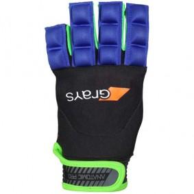 Hockeyhandschuhe - Schutz - kopen - Grays Anatomic Pro Handschuh links Blau/Grün