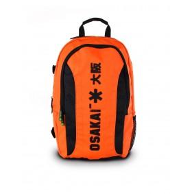Hockey Rucksäcke - Hockeyschläger Outlet - Hockey Taschen -  kopen - Osaka Senior LARGE Rucksack – Orange / Schwarz   RABATTDEALS