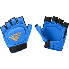 Hockeyhandschuhe - Schutz - kopen - Adidas Hockey OD Handschuh Blue Orange