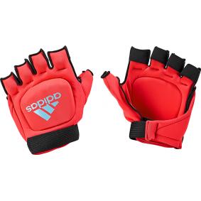 Hockeyhandschuhe - Schutz - kopen - Adidas Hockey OD Handschuh Pink Light Blue