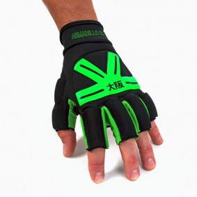 Hockeyhandschuhe - Schutz - kopen - Osaka Armadillo Handschuh Black/Green