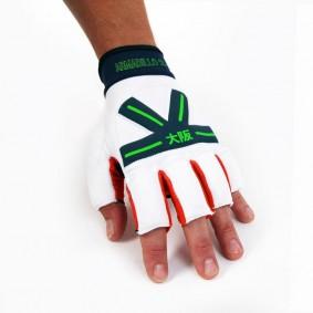 Schutz - Hockeyhandschuhe -  kopen - Osaka Armadillo Handschuh Weiß/Orange/Blau Aktion
