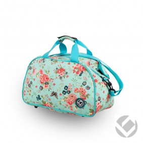 Hockey Taschen - Schultertaschen -  kopen - Brabo Schultertasche Blumen Aqua